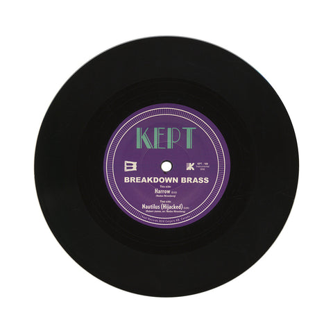 "Breakdown Brass - 'Harrow/ Nautilus (Hijacked)' [(Black) 7"" Vinyl Single]"