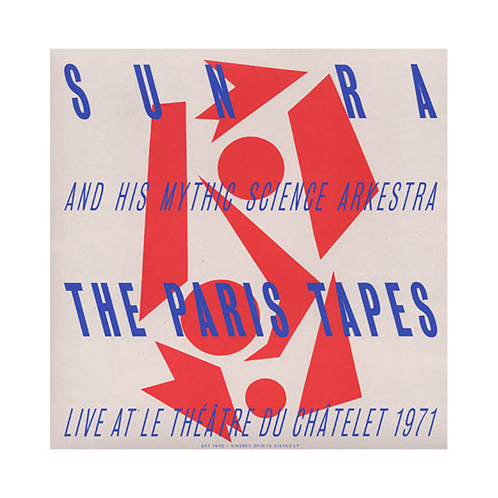 Sun Ra & His Mythic Science Arkestra - 'The Paris Tapes: Live At Le Theatre Du Chatelet 1971' [CD]