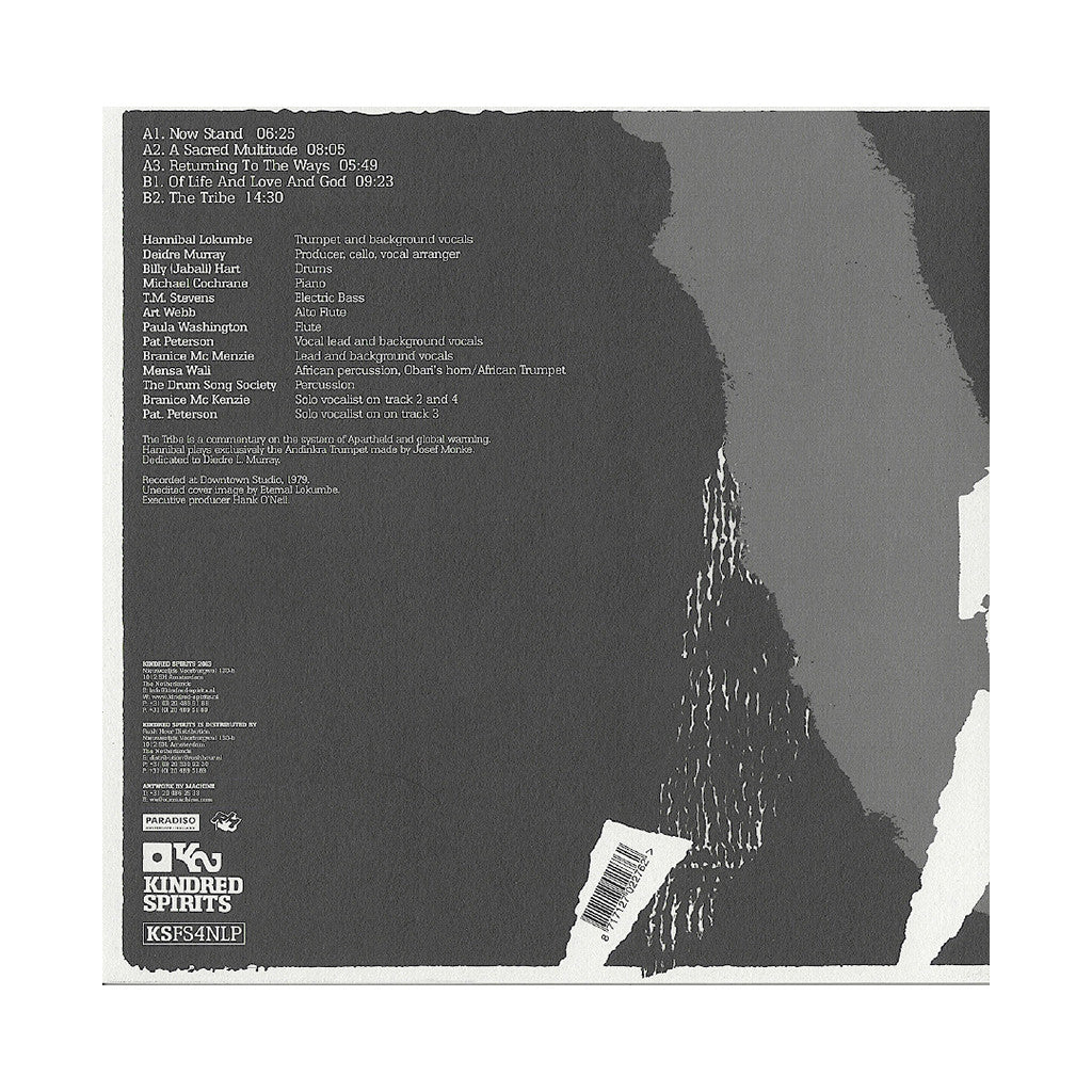 <!--020130205053464-->Hannibal Marvin Peterson - 'The Tribe' [(Black) Vinyl LP]