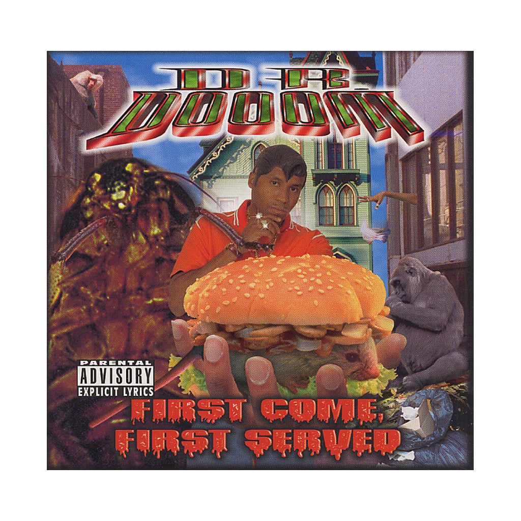 <!--019990427003689-->Dr. Dooom - 'First Come, First Served' [CD]