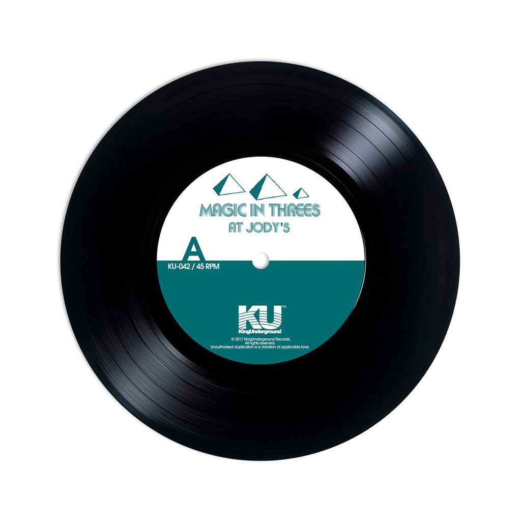 "Magic In Threes - 'At Jody's/ A Breezy Day' [(Black) 7"" Vinyl Single]"