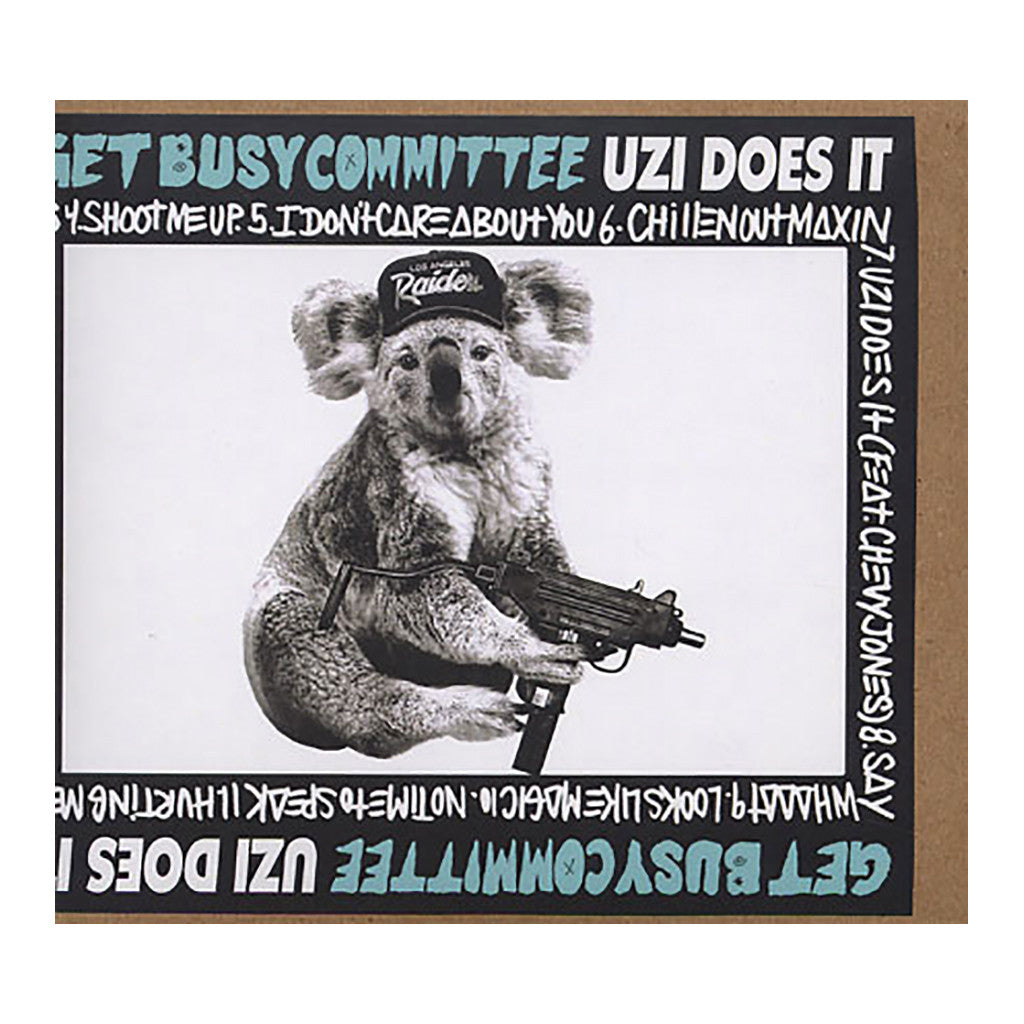 <!--2009111324-->Get Busy Committee - 'No Time To Speak' [Streaming Audio]