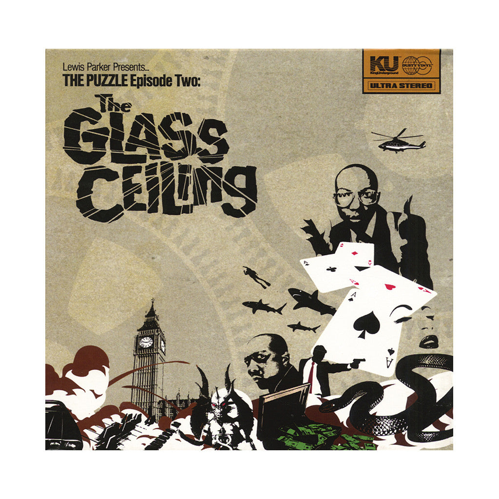 <!--2013110517-->Lewis Parker - 'The Puzzle Episode Two: The Glass Ceiling' [CD [2CD]]