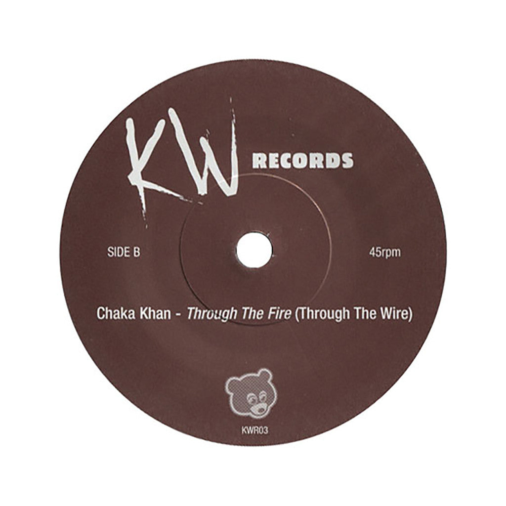 "<!--019000101034584-->Gil Scott-Heron b/w Chaka Khan - 'Here Is Where The Hatred Is (aka Home Is Where The Hatred Is) b/w Through The Fire' [(Black) 7"" Vinyl Single]"