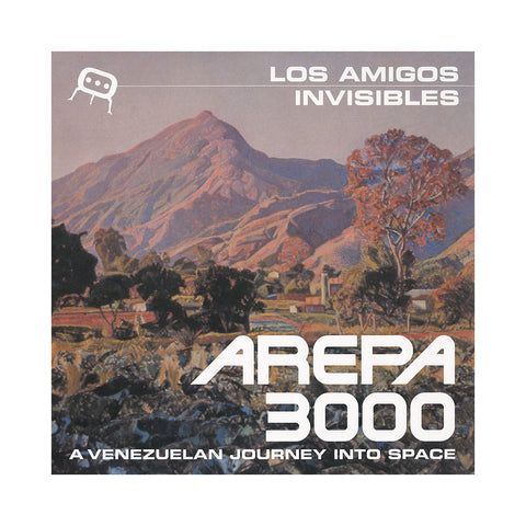 "[""Los Amigos Invisibles - 'Arepa 3000: A Venezuelan Journey Into Space' [CD]""]"
