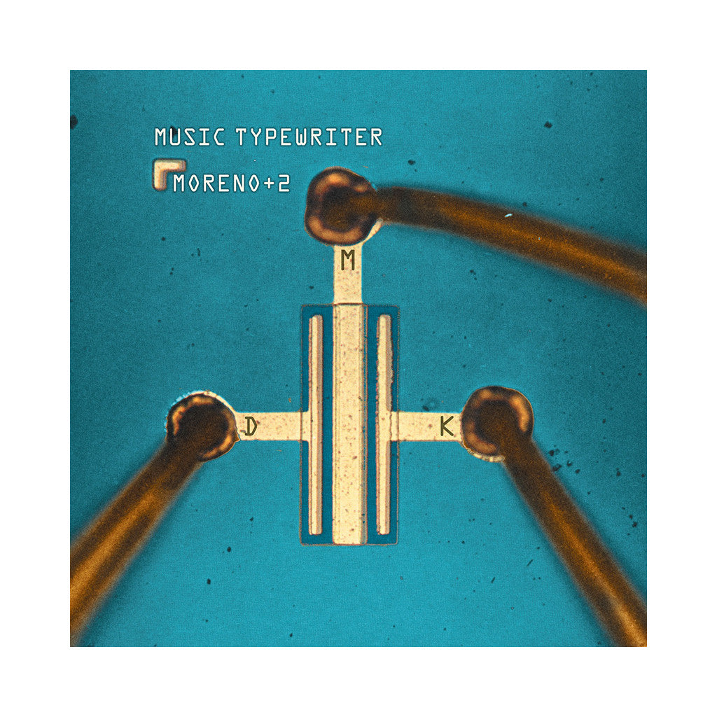 Moreno + 2 - 'Music Typewriter' [(Black) Vinyl LP]