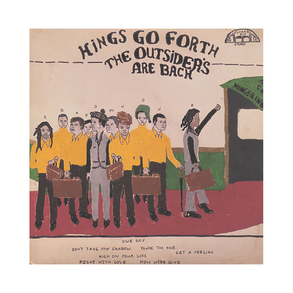 Kings Go Forth - 'The Outsiders Are Back' [CD]