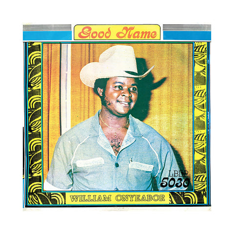 "[""William Onyeabor - 'Good Name' [(Black) Vinyl EP]""]"