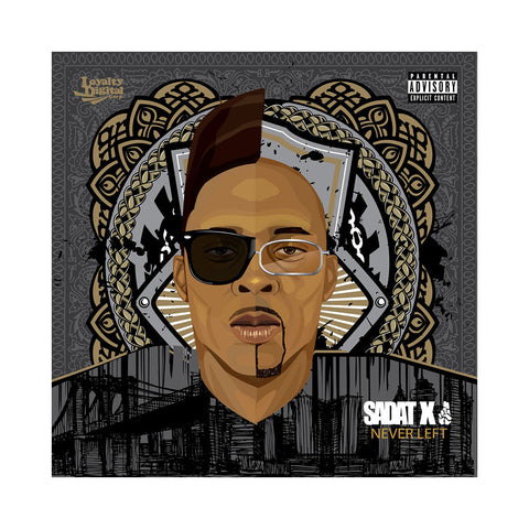Sadat X - 'Never Left (Deluxe Edition)' [(Clear) Cassette Tape]