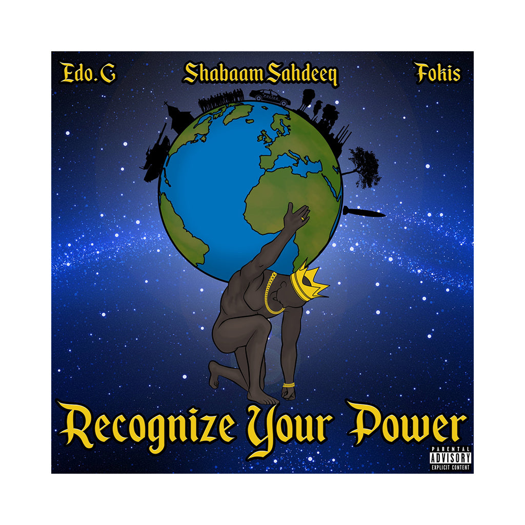EDO.G, Shabaam Sahdeeq & Fokis - 'Recognize Your Power' [(Random Color) Vinyl EP]