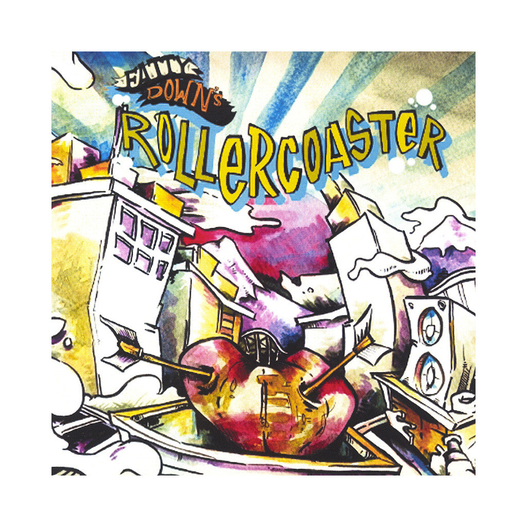 Fatty Down - 'Rollercoaster' [CD]