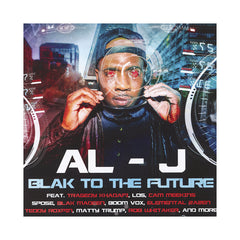 Al-J - 'Blak To The Future' [CD]