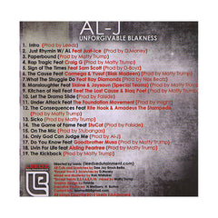 <!--020100803022856-->Al-J - 'Unforgivable Blakness' [CD]