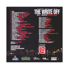 <!--020120124041115-->Leedz Edutainment Presents (Hosted By: Peter Parker) - 'The Write Off Vol. 3' [CD]