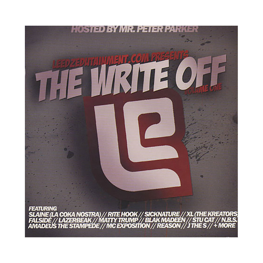 <!--020100511021240-->Leedz Edutainment Presents (Hosted By: Peter Parker) - 'The Write Off Vol. 1' [CD]
