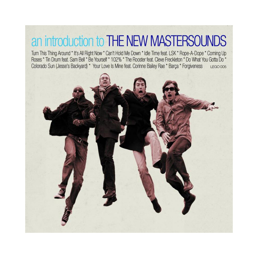 <!--020070101000772-->The New Mastersounds - 'An Introduction to the New Mastersounds Vol. 1' [CD]