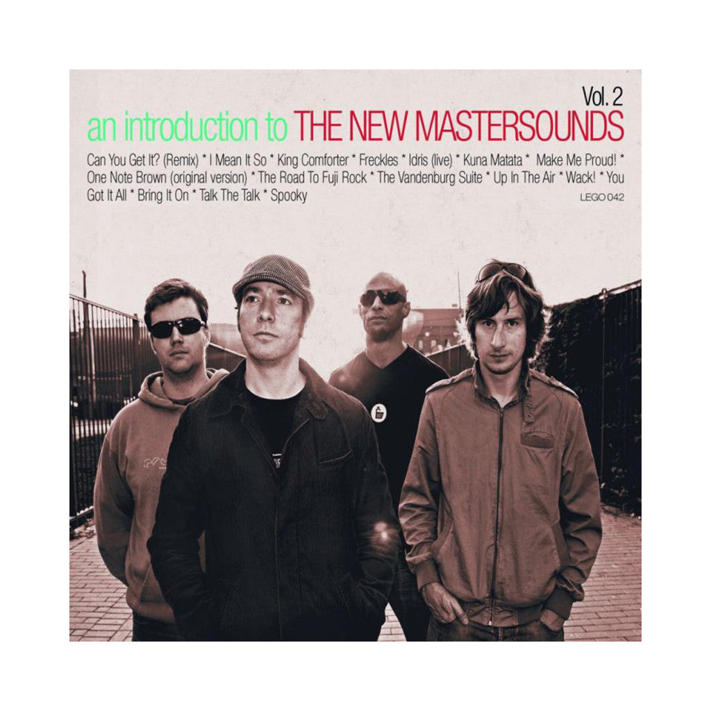 The New Mastersounds - 'An Introduction to the New Mastersounds Vol. 2' [CD]