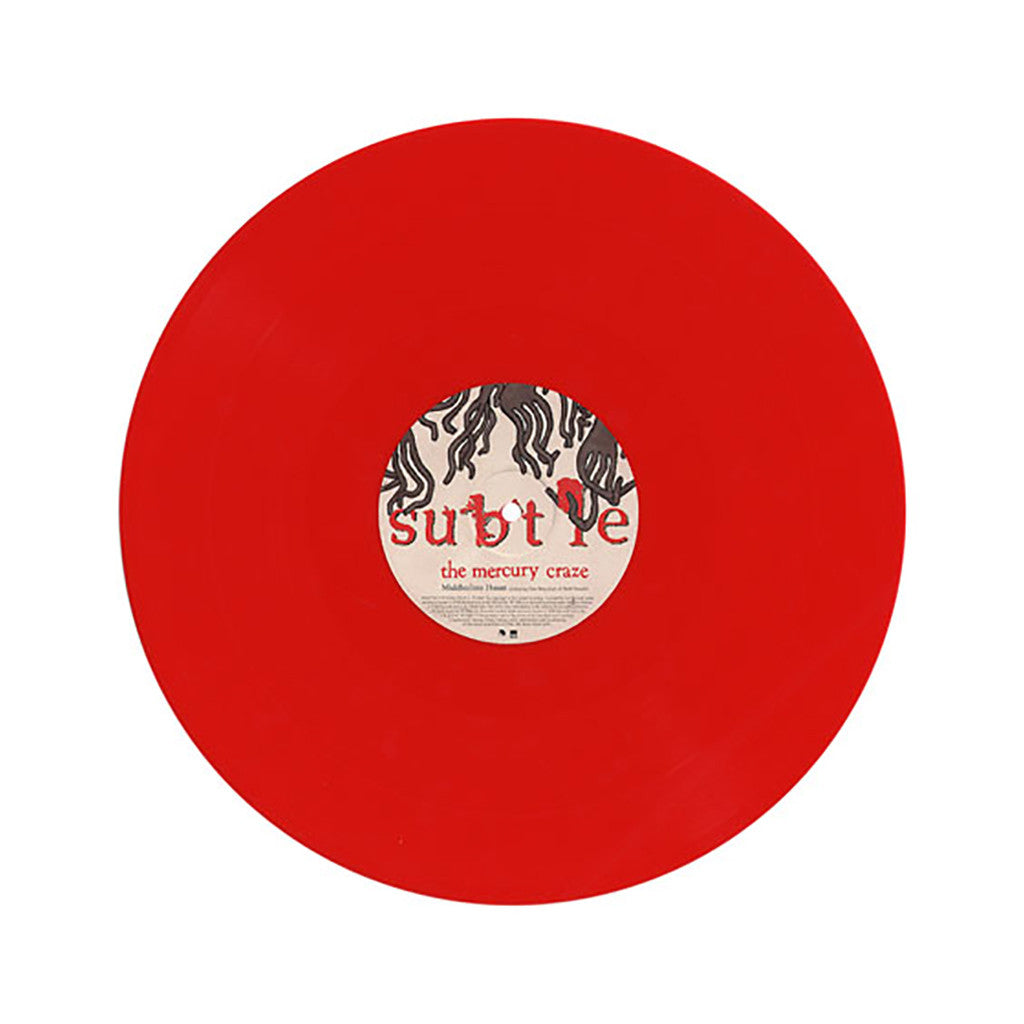 "<!--120070403000995-->Subtle - 'The Mercury Craze/ The Mercury Craze (Soft Pink Truth Remix)/ Middleclass Haunt' [(Red) 12"""" Vinyl Single]"