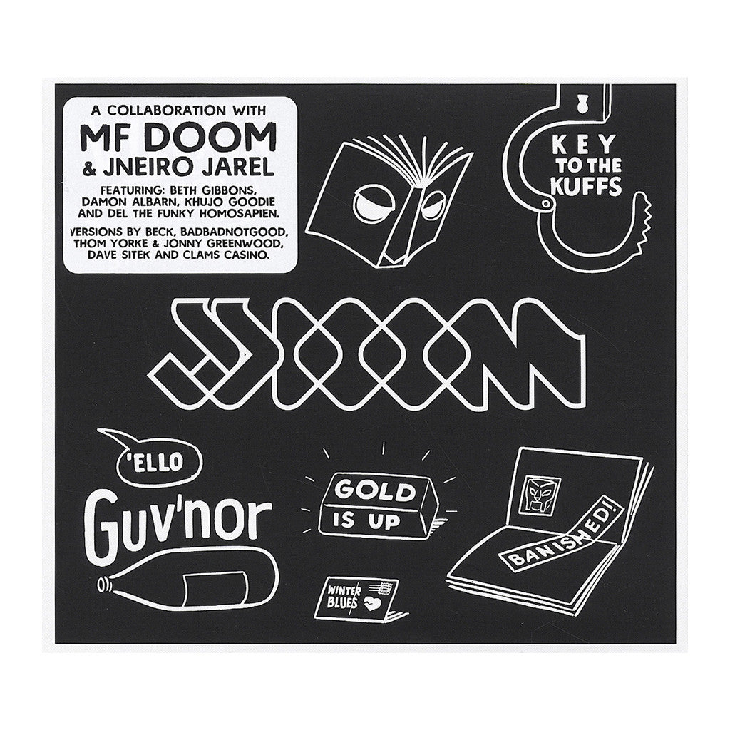 JJ DOOM - 'Key To The Kuffs (Deluxe Butter Edition)' [CD [2CD]]