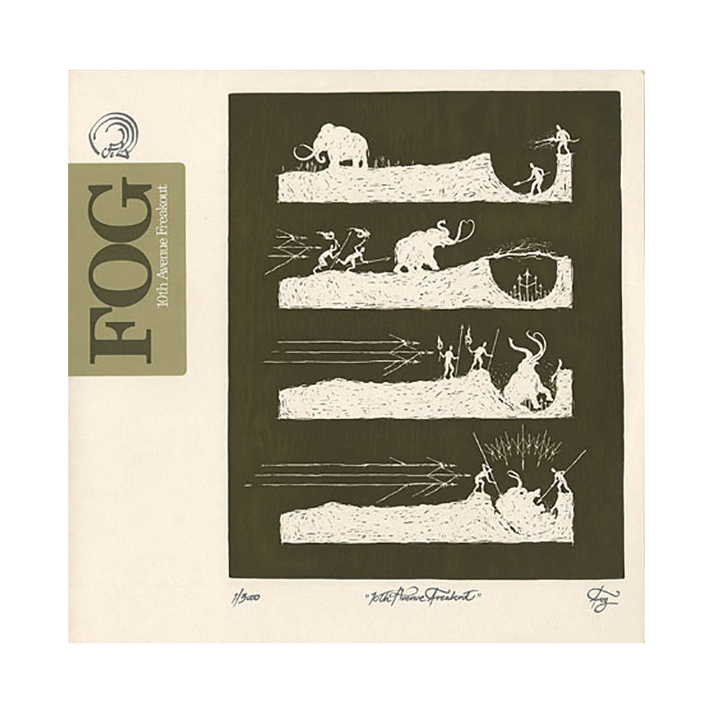 Fog - '10th Avenue Freakout' [CD]