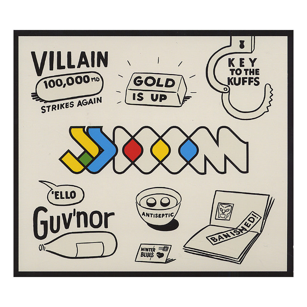 <!--120120821046713-->JJ DOOM - 'Key To The Kuffs' [CD]
