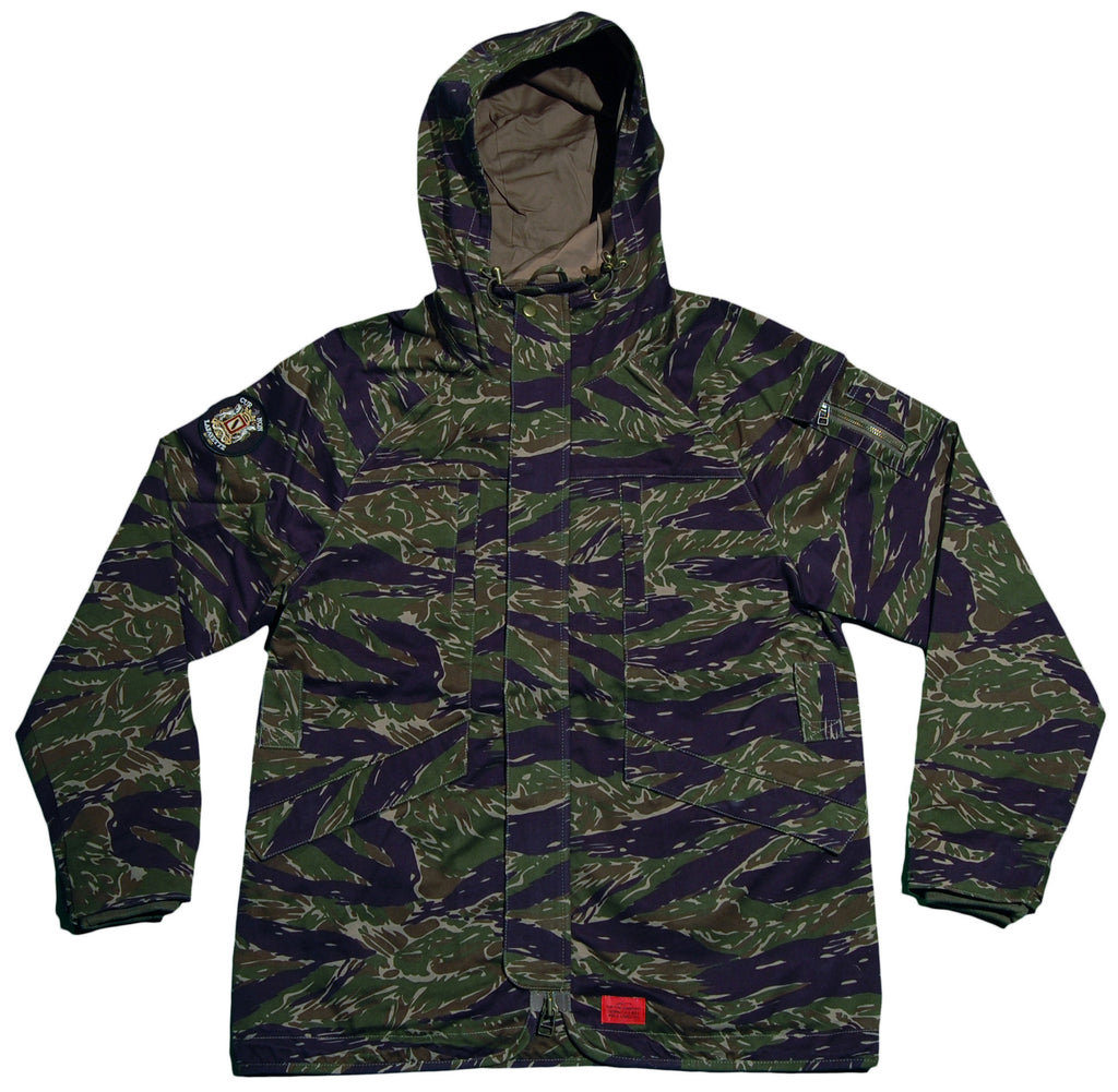 <!--2012120450-->Lafayette - 'Military Cotton Field Parka - Tigerstripe' [(Camo Pattern) Jacket]