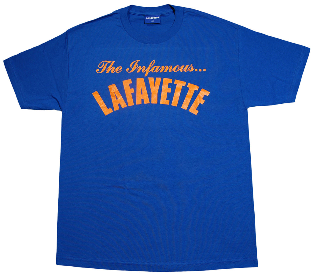 <!--2012111347-->Lafayette - 'The Infamous' [(Blue) T-Shirt]