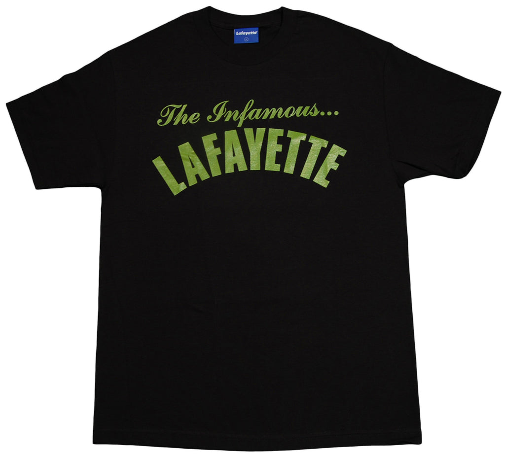 <!--2012111351-->Lafayette - 'The Infamous' [(Black) T-Shirt]