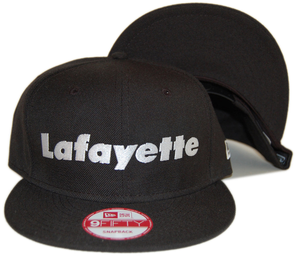 <!--020121204052201-->Lafayette - 'White Logo' [(Black) Snap Back Hat]