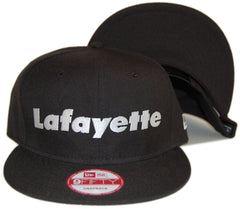 <!--2012120431-->Lafayette - 'White Logo' [(Black) Snap Back Hat]