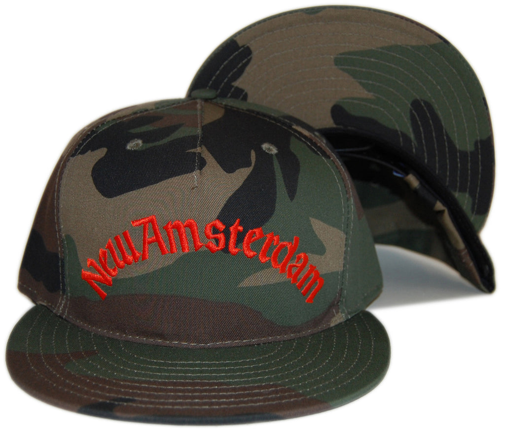 <!--020121113051528-->Lafayette - 'New Amsterdam' [(Camo Pattern) Snap Back Hat]