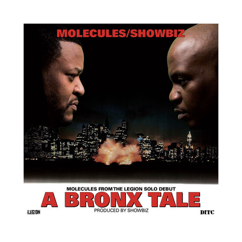 Molecules & Showbiz - 'A Bronx Tale' [CD]