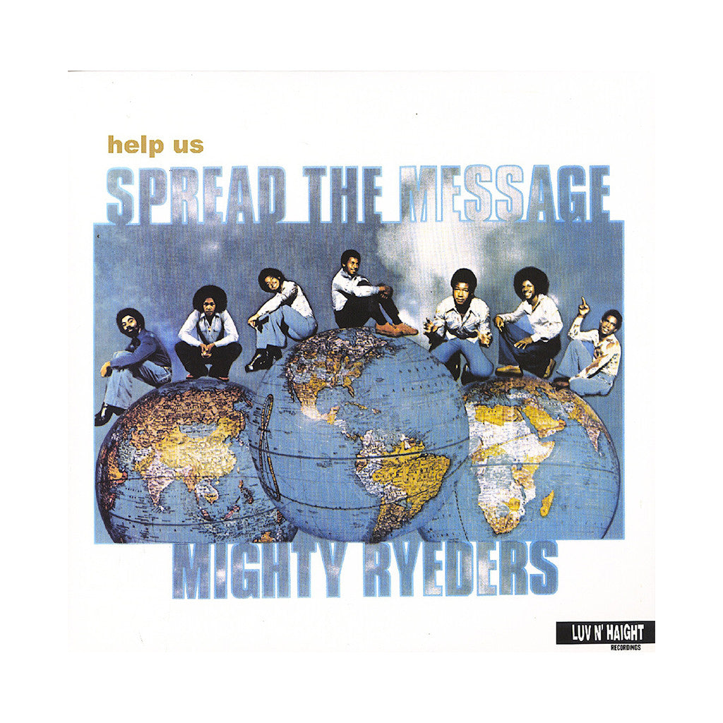 Mighty Ryeders - 'Help Us Spread The Message' [(Clear) Vinyl LP]