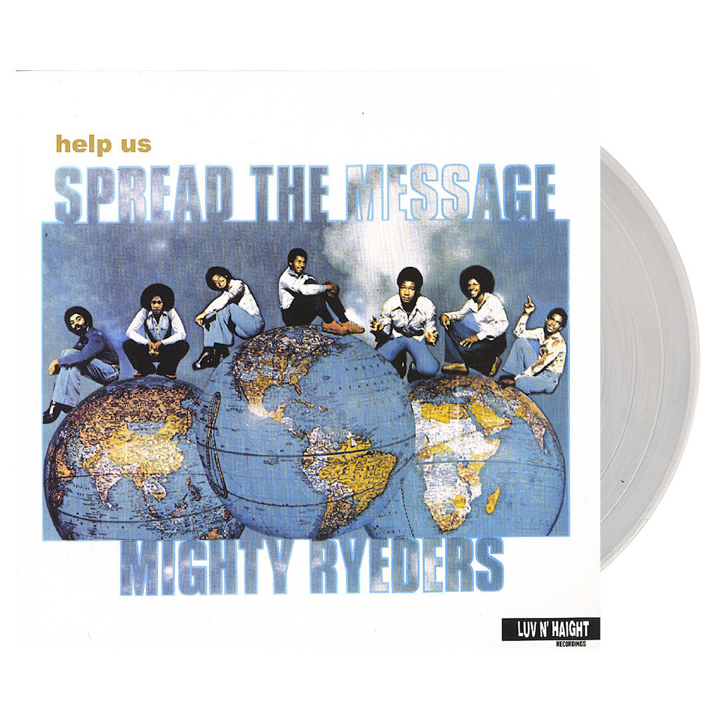 <!--020130702002157-->Mighty Ryeders - 'Help Us Spread The Message' [(Clear) Vinyl LP]