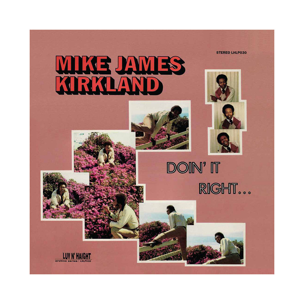 <!--019950519002150-->Mike James Kirkland - 'Doin' It Right' [CD]
