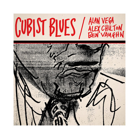 "[""Alan Vega, Alex Chilton & Ben Vaughn - 'Cubist Blues' [(Black) Vinyl [2LP]]""]"