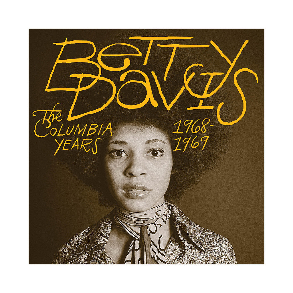 Betty Davis - 'The Columbia Years: 1968-1969' [(Black) Vinyl LP]