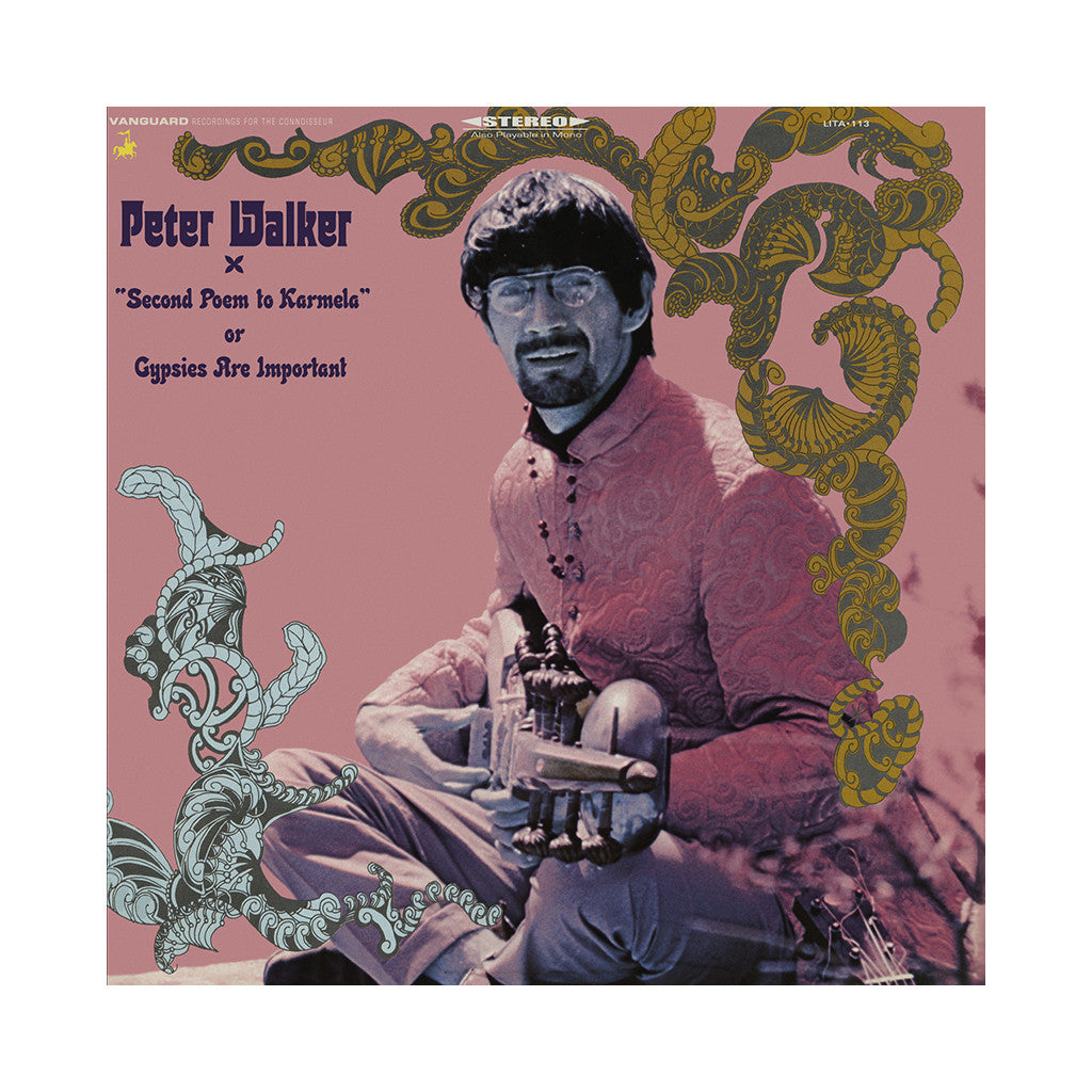 <!--120140304063481-->Peter Walker - 'Second Poem to Karmela, or Gypsies Are Important' [CD]