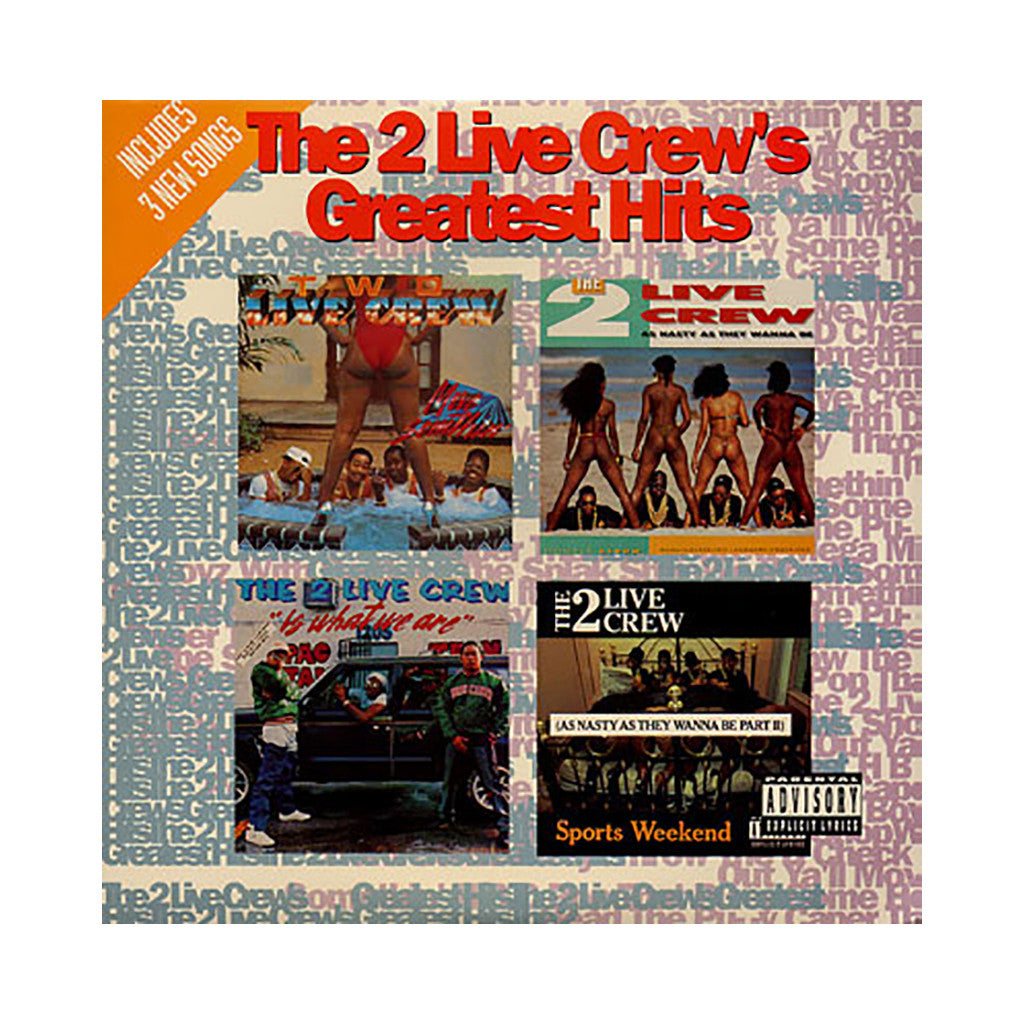<!--019920211016319-->2 Live Crew - 'Greatest Hits' [(Black) Vinyl [2LP]]