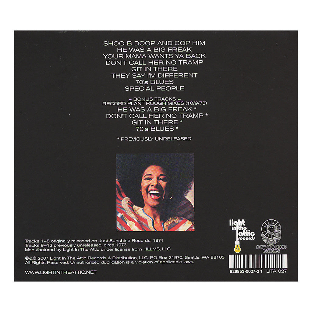 <!--020070515004550-->Betty Davis - 'And They Say I'm Different' [CD]