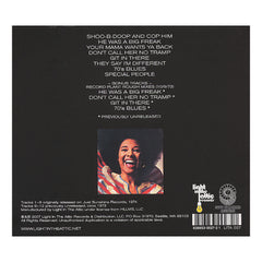 Betty Davis - 'And They Say I'm Different' [CD]