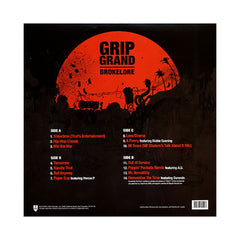 <!--020080429013694-->Grip Grand - 'Brokelore' [(Black) Vinyl [2LP]]