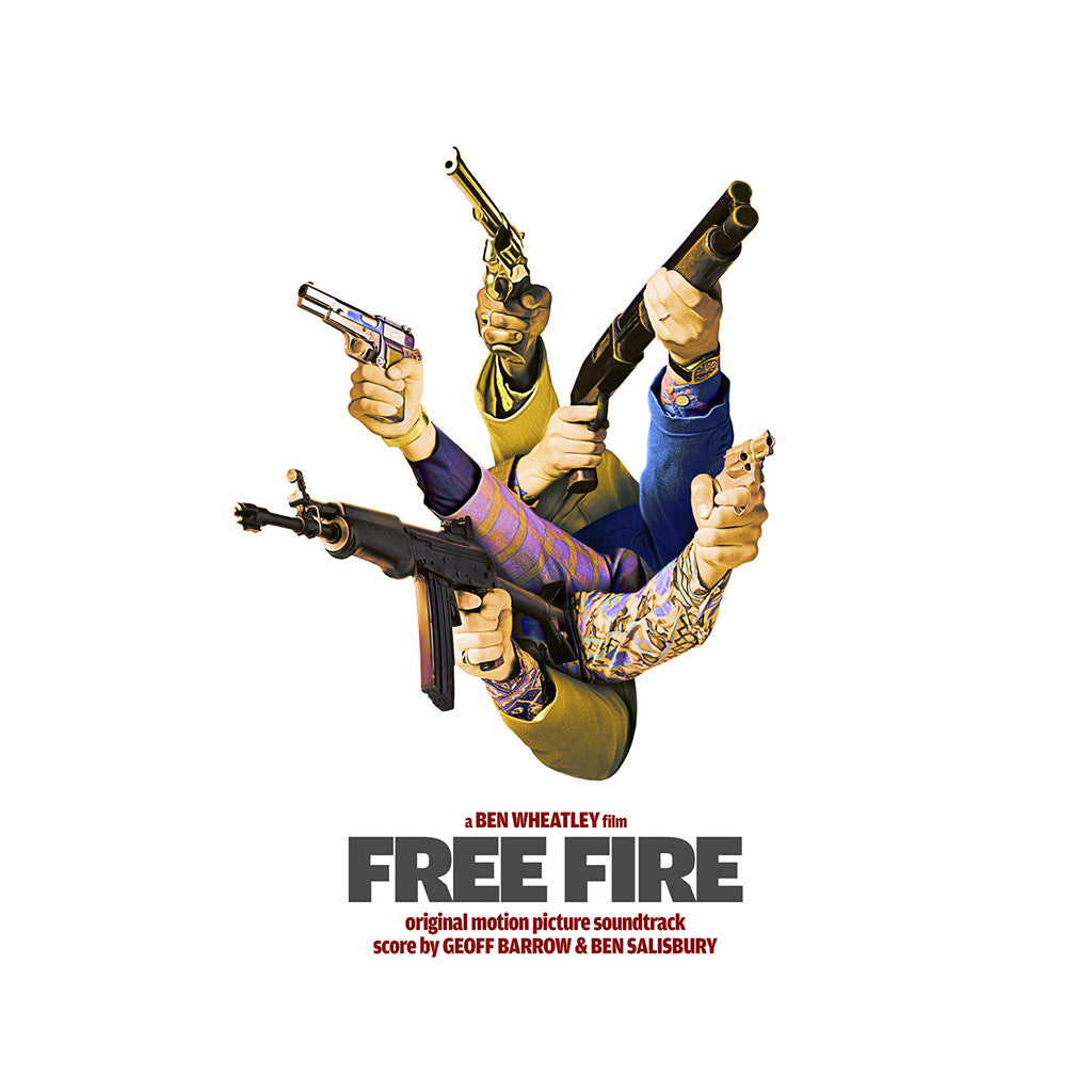 Geoff Barrow & Ben Salisbury - 'Free Fire (Original Motion Picture Soundtrack)' [CD]