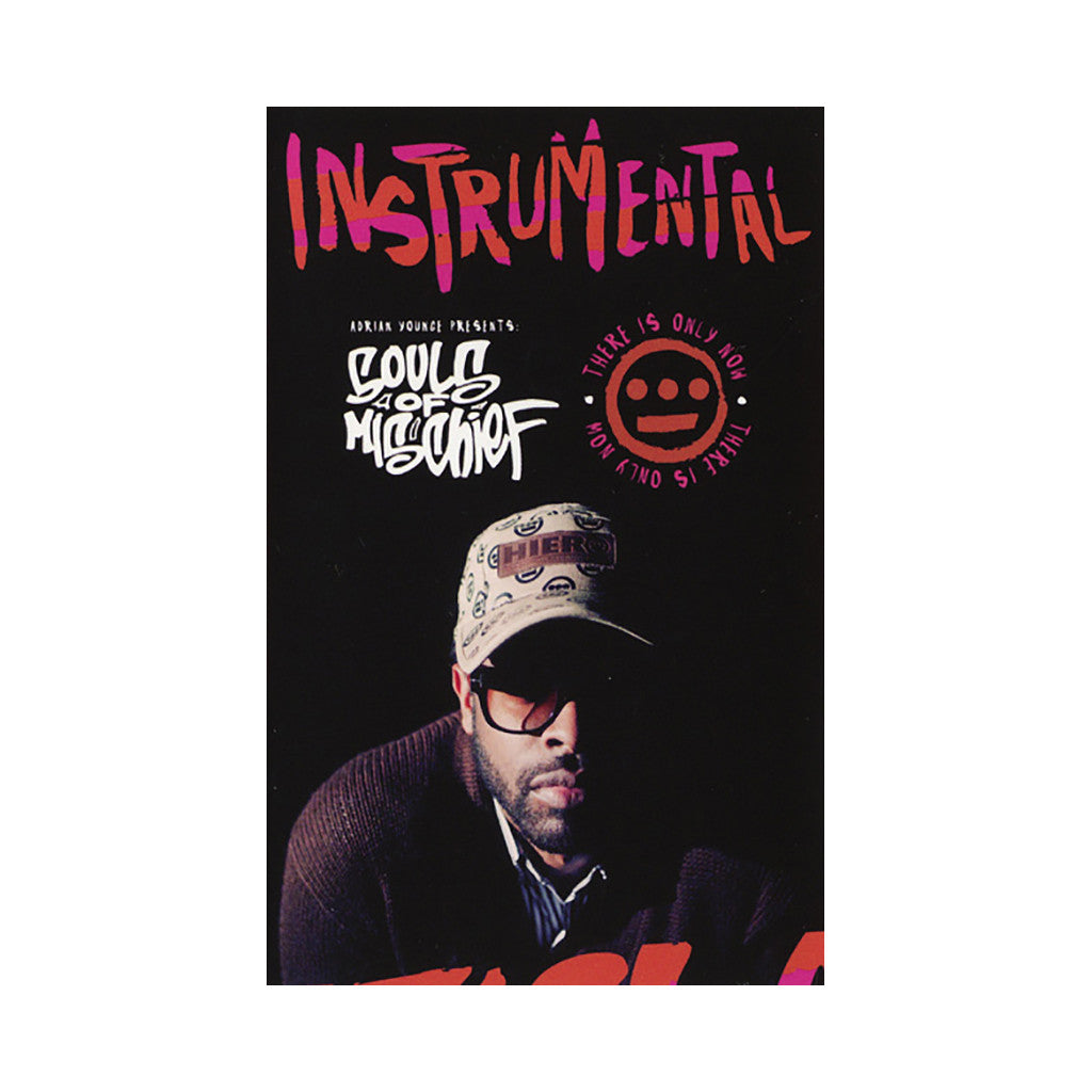 <!--2014082616-->Souls Of Mischief w/ Adrian Younge - 'There Is Only Now (Instrumentals)' [(White) Cassette Tape]