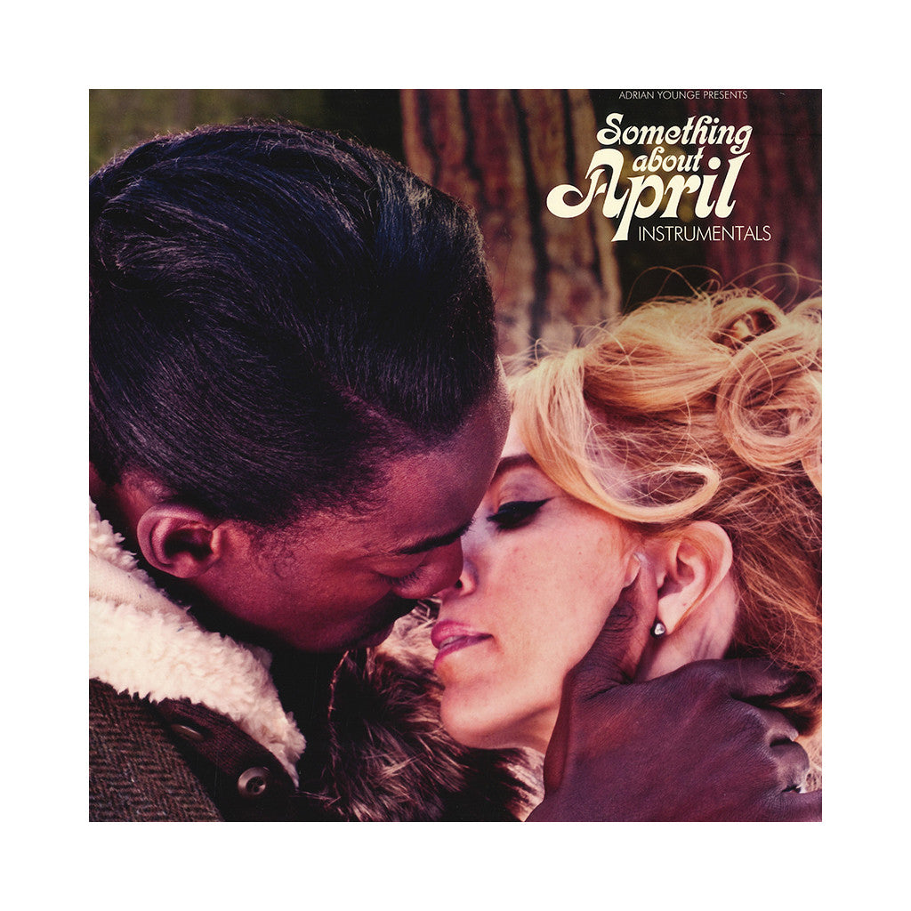 Adrian Younge Presents Venice Dawn - 'Something About April (Instrumentals)' [(Black) Vinyl LP]