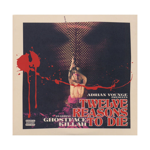 "[""Ghostface Killah & Adrian Younge - 'Twelve Reasons To Die (Deluxe Edition 2)' [CD [2CD]]""]"
