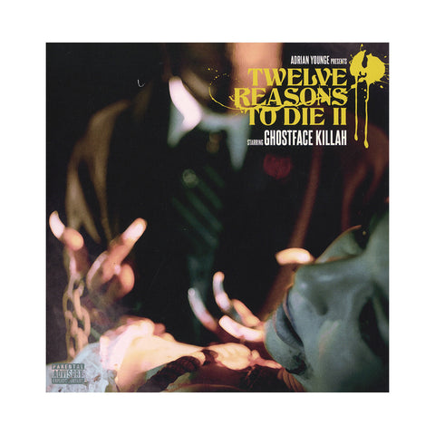 "Ghostface Killah & Adrian Younge - 'Death's Invitation/ Let The Record Spin' [(Black) 7"" Vinyl Single]"
