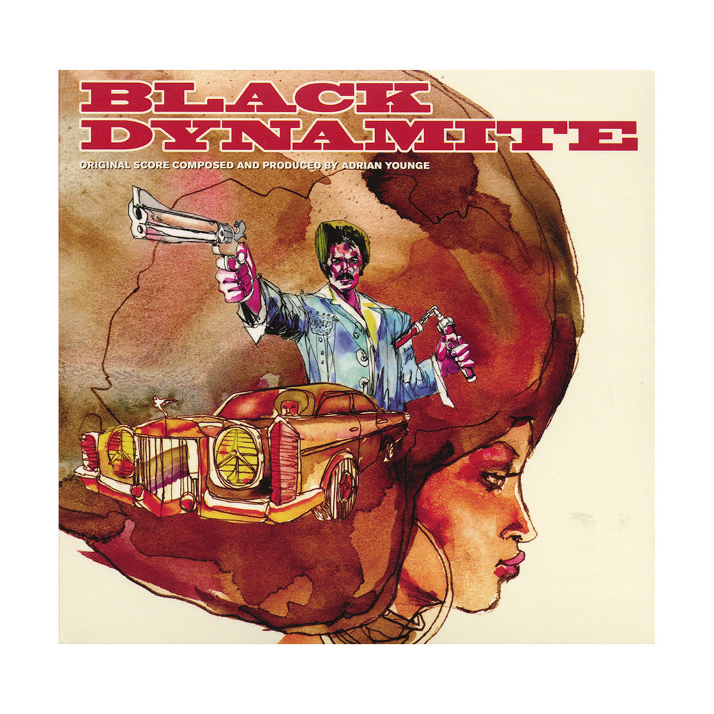 Adrian Younge - 'Black Dynamite (The Original Score) (Deluxe Edition)' [CD [2CD]]