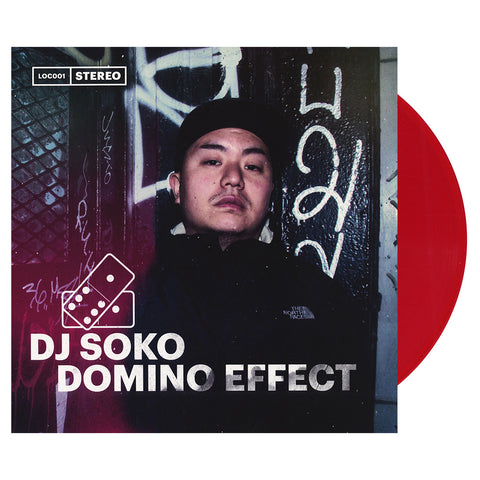 DJ Soko - 'Domino Effect' [(Red) Vinyl LP]