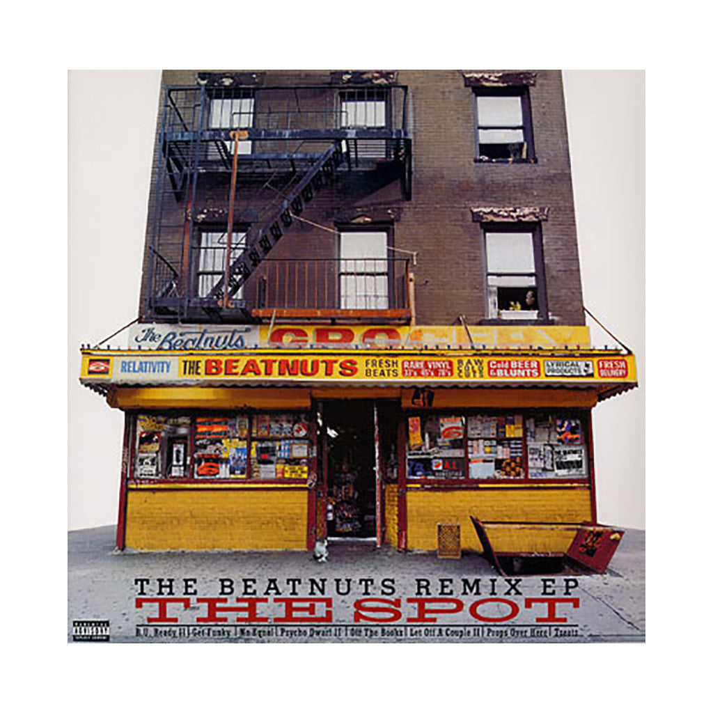 The Beatnuts - 'The Spot Remix EP' [CD]